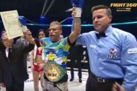 Rosales asub WBC tiitlit kaitsma