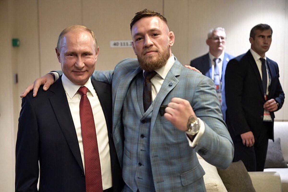 McGregor: Putin on üks meie aja suurimaid juhte
