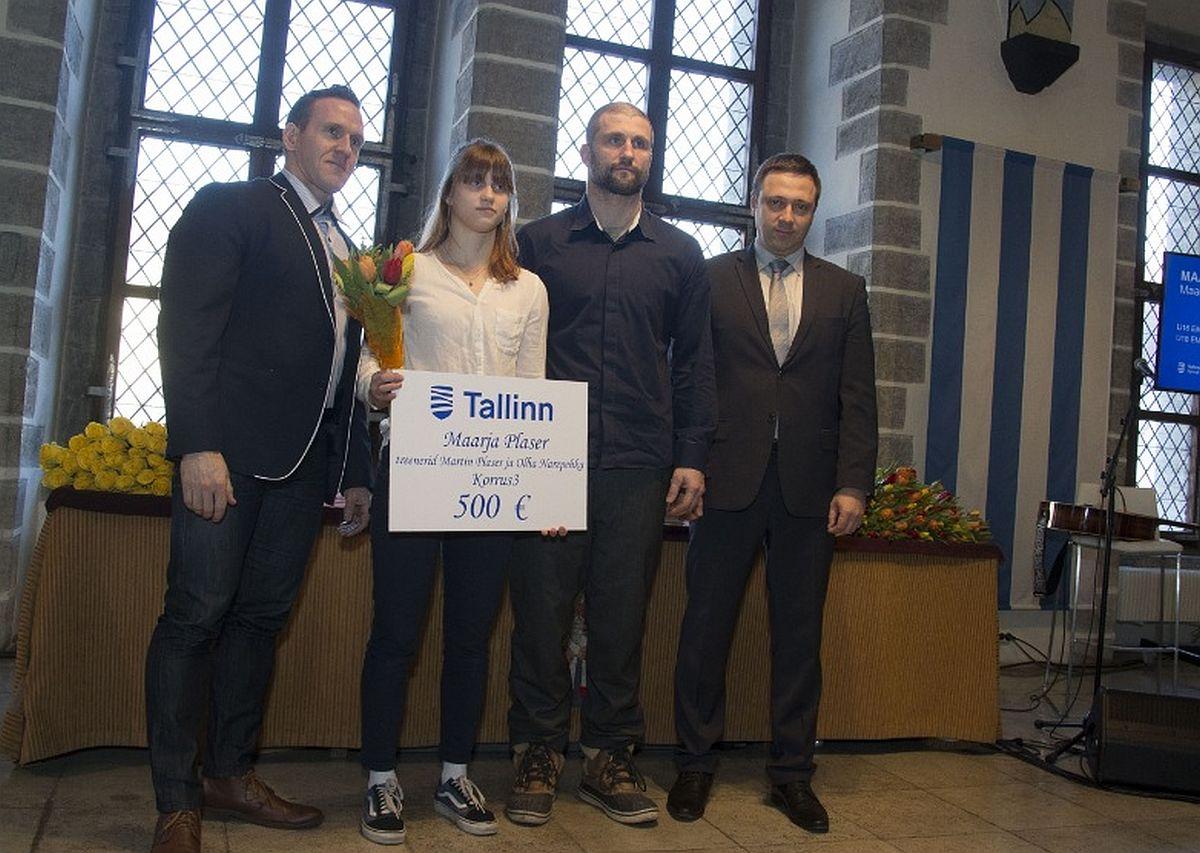 Tallinn tunnustas noorsportlasi: maadlejad, karatekad ja paljud teised