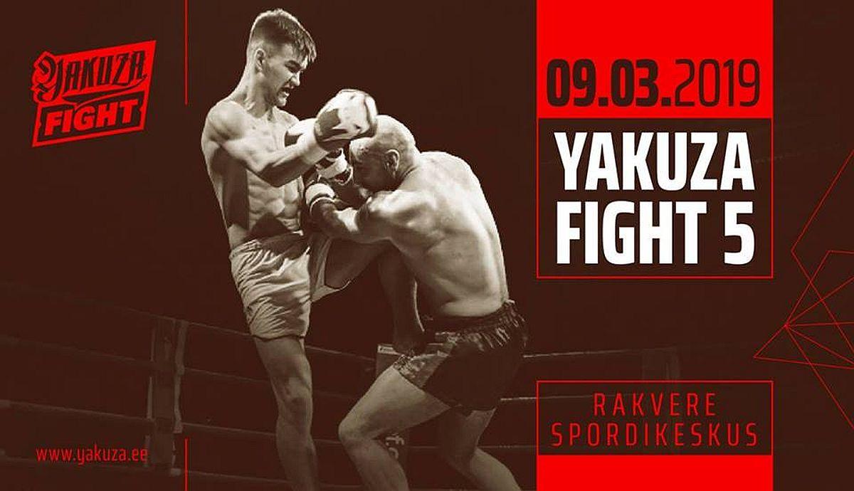 1d39b282bb0 Yakuza Fight 5 toimub 9. märtsil Rakveres - GoodFight
