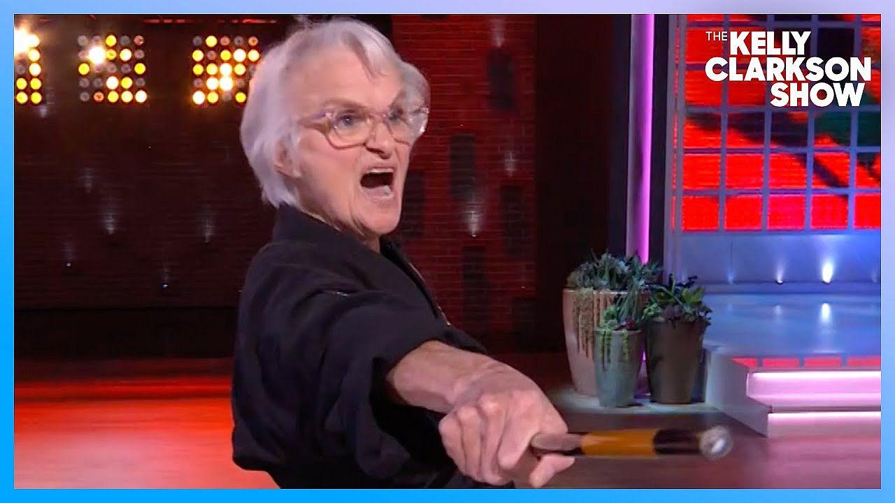 Video: 83-aastane vanaema on karates must vöö